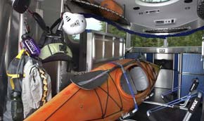 2008 Airstream Basecamp interior 3