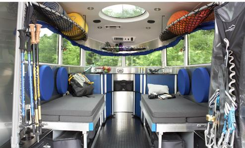2008 Airstream Basecamp interior