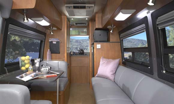 The Beautiful Airstream Interstate Interior Image