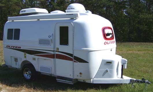oliver legacy travel trailer exterior