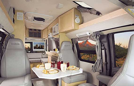 Roadtrek 190 interior