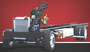 Freightliner ecoFRED motorhome chassis