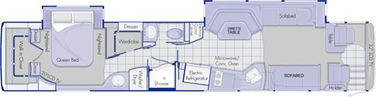 roaming times rv news and overviews prevost bus floor plans ahomeplan com