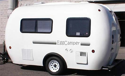 Eggcamper travel trailer