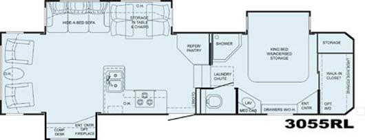 Heartland Bighorn floorplan 3055RL