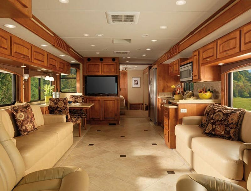 2011 Monaco Diplomat Class A Motorhome Interior Click For A Bigger Picture