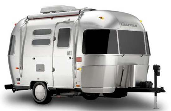 Airstream DWR Design Within Reach Travel Trailer exterior
