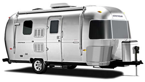 Airstream Flying Cloud travel trailer exterior