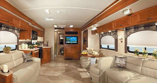 Fleetwood Bounder Class A Gas Motorhome Interior