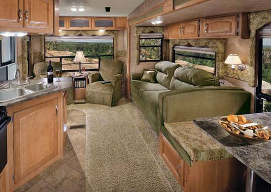roaming times rv news and overviews keystone cougar fifth wheel interior 276rls