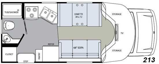 class b plus diesel motorhome with slide images amp pictures
