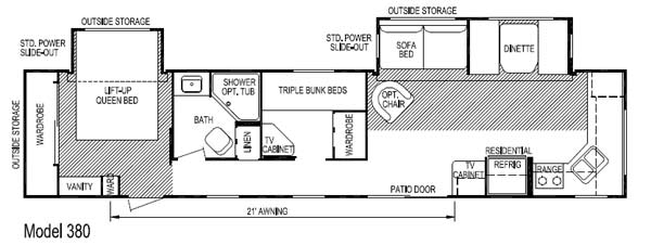 Layton rv floor plans flooring ideas and inspiration for Rv park blueprints