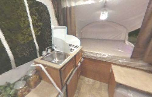viking epic folding camping trailer interior 2 roaming times rv news and overviews  at nearapp.co