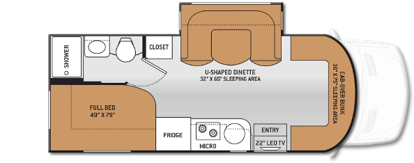 100+ [ Sprinter Rv Floor Plans ]   Our Mercedes Campervan ...