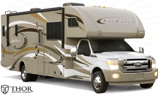 2015 Four Winds 33SW Super Class C Motorhome exterior