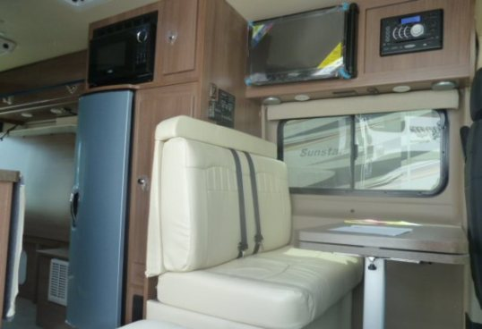 Simple Winnebago Unveils Ram ProMaster Based Travato  Truck Trend News