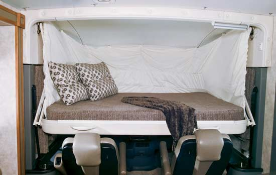 Beautiful Down Bed In Cargo Area Queen Size Electric Drop Down Bed In Cargo Area
