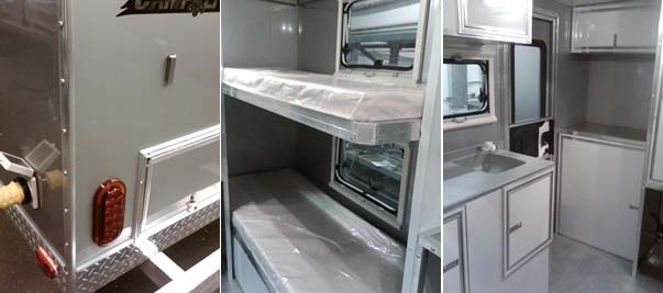 Trailer Interior Design - The Interior Has Been Updated But