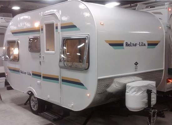 cikira retro lite small travel trailer exterior
