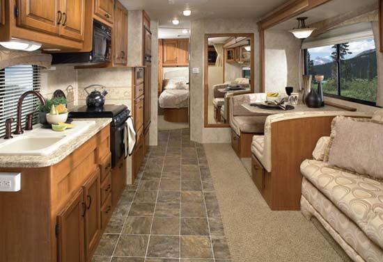 Motor Home Interiors Best Kitchen Design
