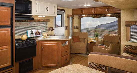 Keystone Outback Travel Trailer Interior 286rl Model