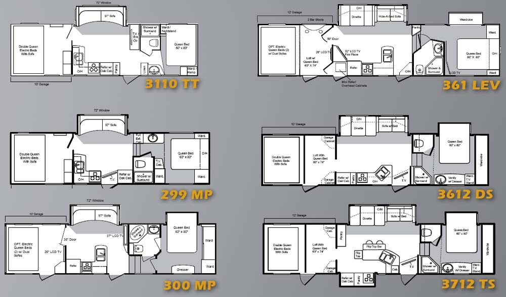 keystone raptor fifth wheel hauler floorplans large
