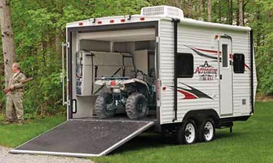 Open Toy Blast On Facebook : Coachmen toy hauler wow