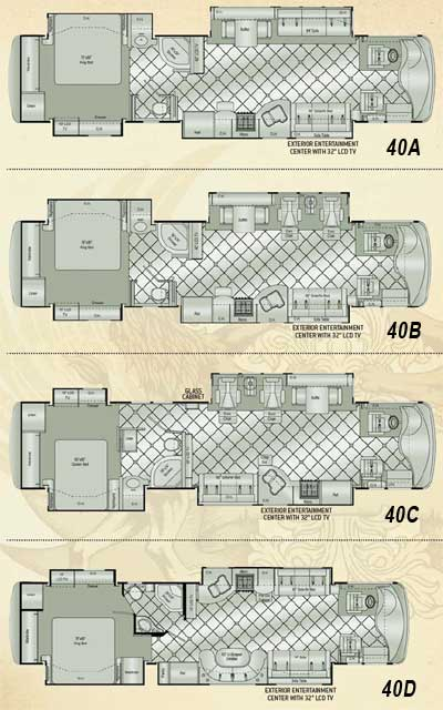 Mattress Consumer Reports on Damon Essence Class A Motorhome Floorplans   Small Picture  Click For