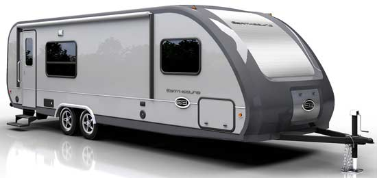 Earthbound travel trailer exterior