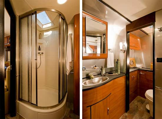 Roaming times rv news and overviews for 2 bathroom travel trailer