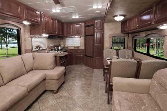 The first 2 interiors we show are of the 34RKSA model (see the ...