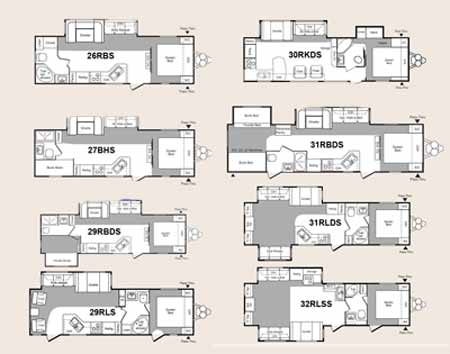 Top Small Rv Floor Plans Wallpapers