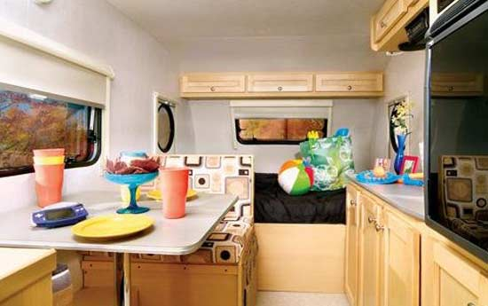 tda tada small travel trailer interior txl model - Small Camper Trailer 2