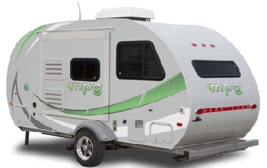 heartland mpg teardrop trailer exterior roaming times rv news and overviews