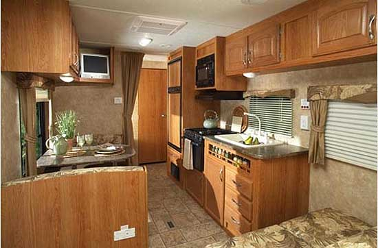 Image Gallery Jayco Travel Trailers Interior