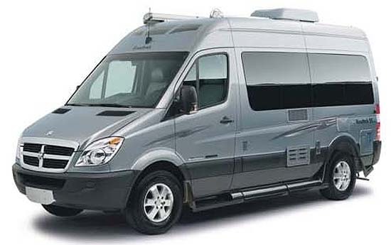 Roadtrek SS Ideal class B motorhome exterior