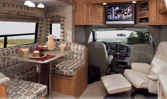 Coachmen Concord Class C Motorhome Interior