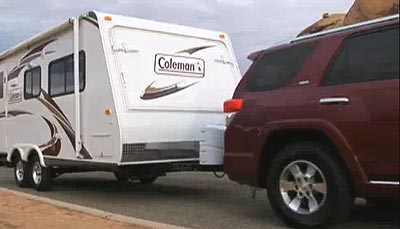 Coleman Travel Trailer - towing