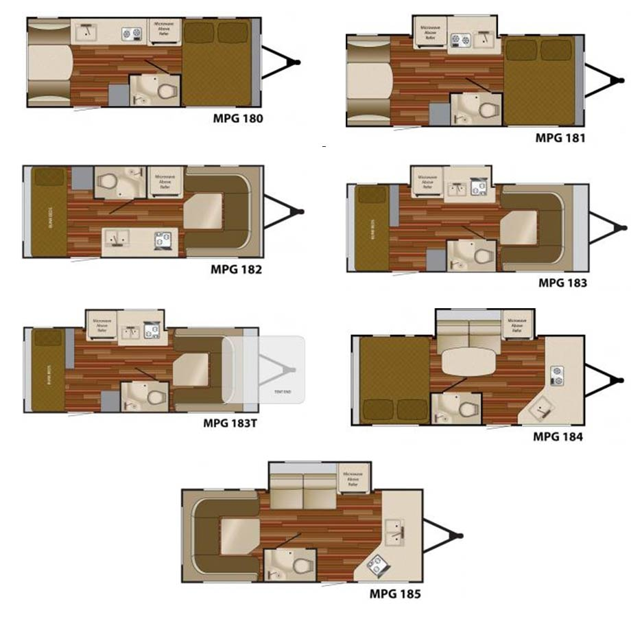 heartland mpg travel trailer floorplans large picture