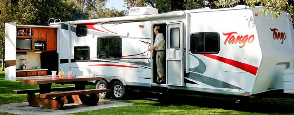 Travel Trailer With Bunk Beds And Outdoor Kitchen Part - 18: 2010 Tango Travel Trailer RV - By Pacific Coachworks - Exterior