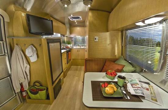 Airstream Flying Cloud Travel Trailer Interior 20u0027 Front To Back