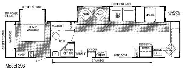 Layton Travel Trailer Floor Plans - Flooring Ideas and Inspiration