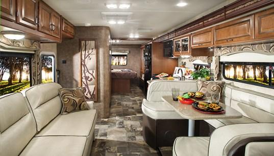 The 2015 Four Winds 33SW Super Class C Motorhome Interior