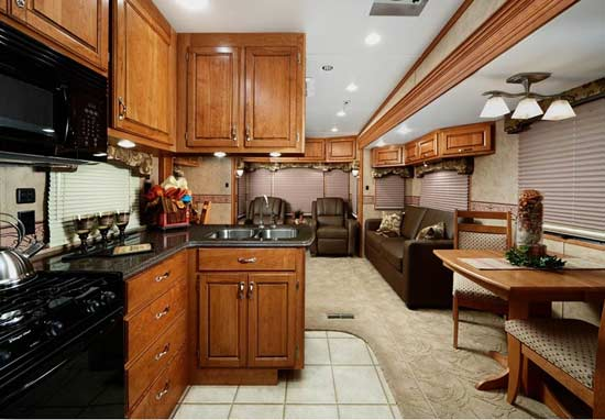 5th Wheel Campers Interior