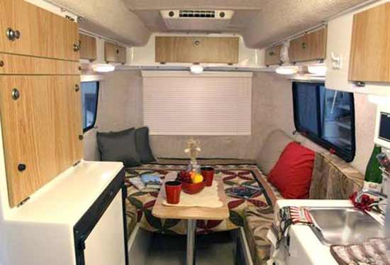 Pictures Inside Of Small Rv http://www.roamingtimes.com/rvreports/7/casita-liberty-small-travel-trailer-rv.aspx