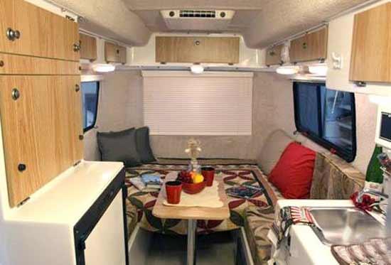 casita liberty small travel trailer interior 2 - Small Camper Trailer 2