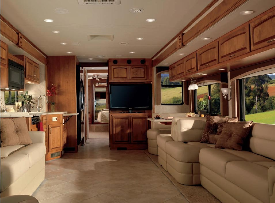 Fantastic Luxury RV Interior  ROLL39N NICE Amp CLEAN 0  Pinterest