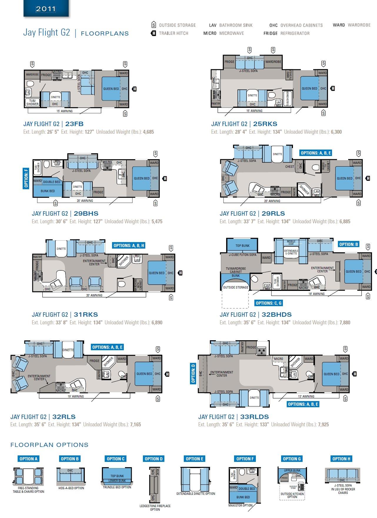 100 26 Ft Travel Trailer Floor Plans Avion