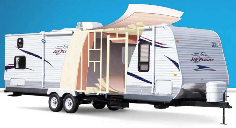 Luxury Camper Body Wall Construction Material  Horizons Unlimited  The HUBB