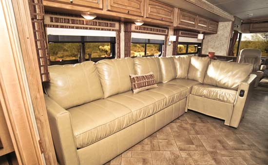 Rv Sectional Sofa Seating Options Upholstery Thesofa